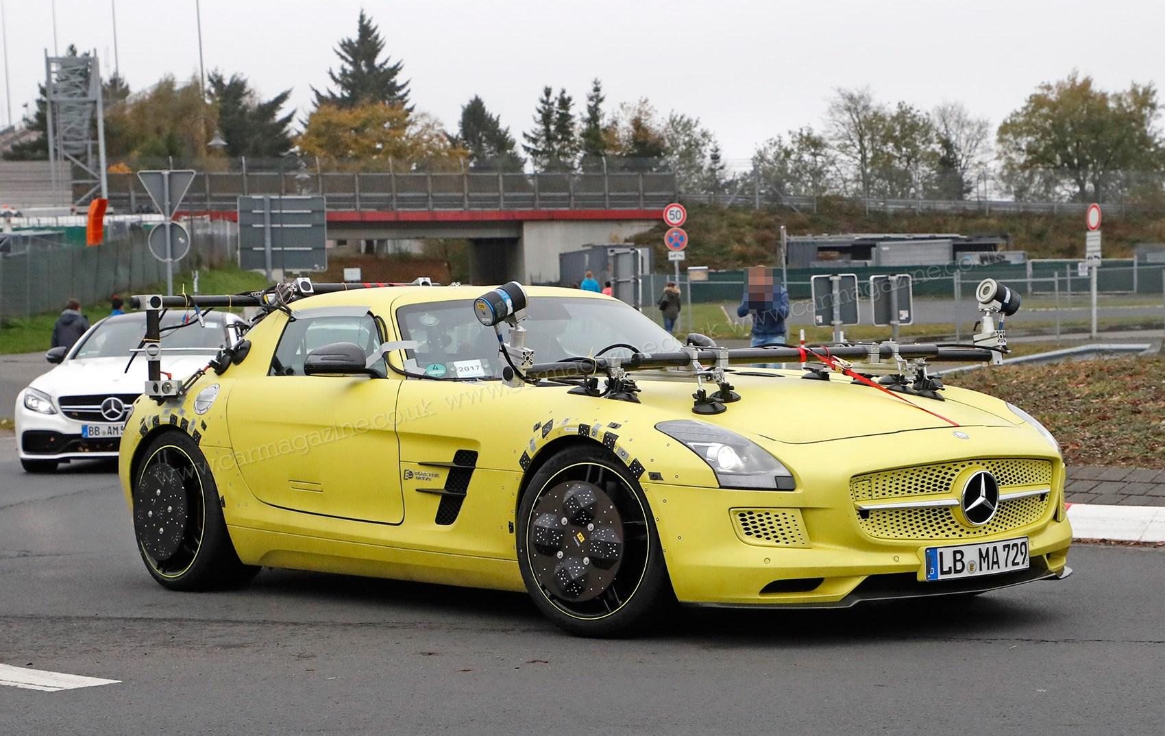 Mercedes-Benz using electric SLS to improve autonomous ...