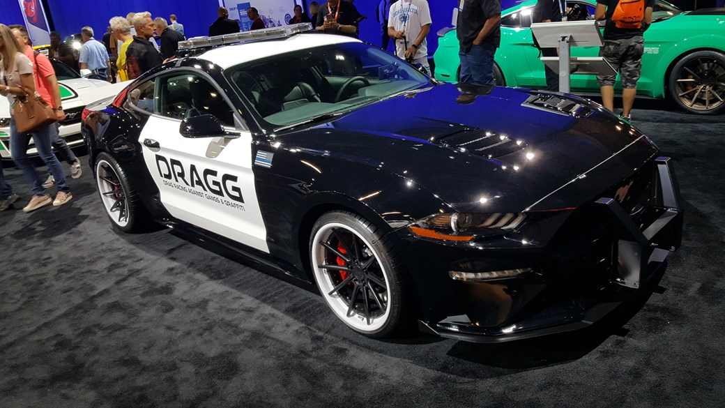 Ford Mustang Police Car 2017 Sema