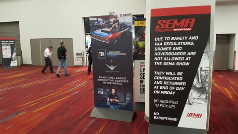 Welcome to SEMA, leave your millenialware at the door, please.