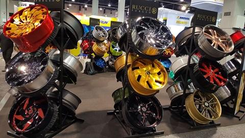 SEMA wheels and tyres