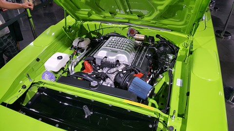 Dodge now offers its 6.2-litre supercharged V8 as a plug-and-plug 697bhp project car powerplant - called the 'Hellcrate'