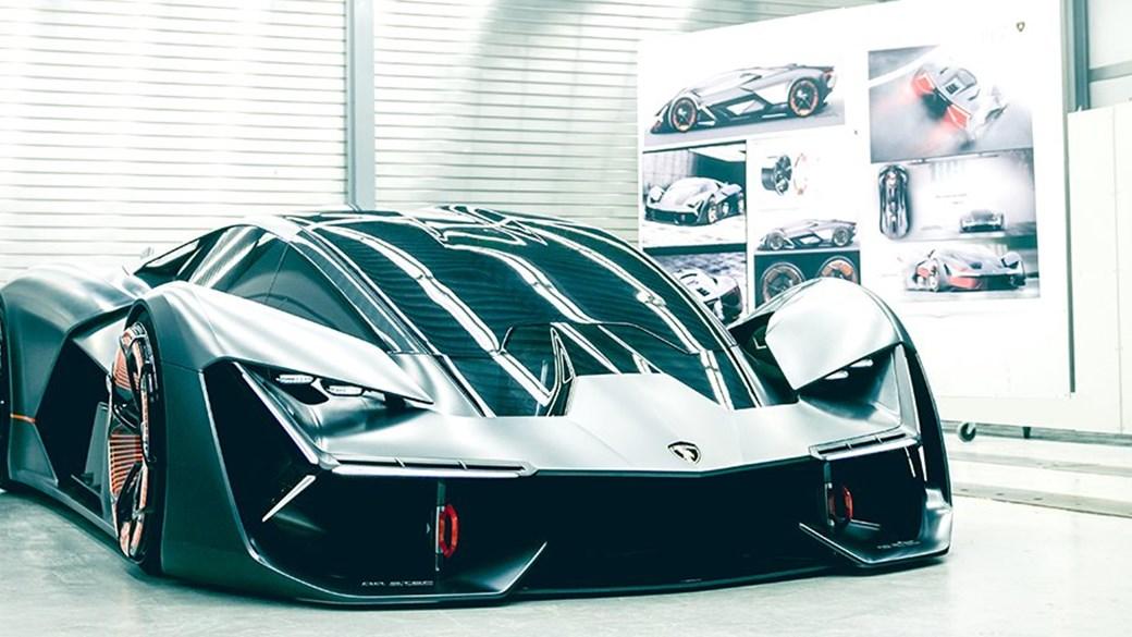 The Lamborghini Terzo Millennio Concept Car