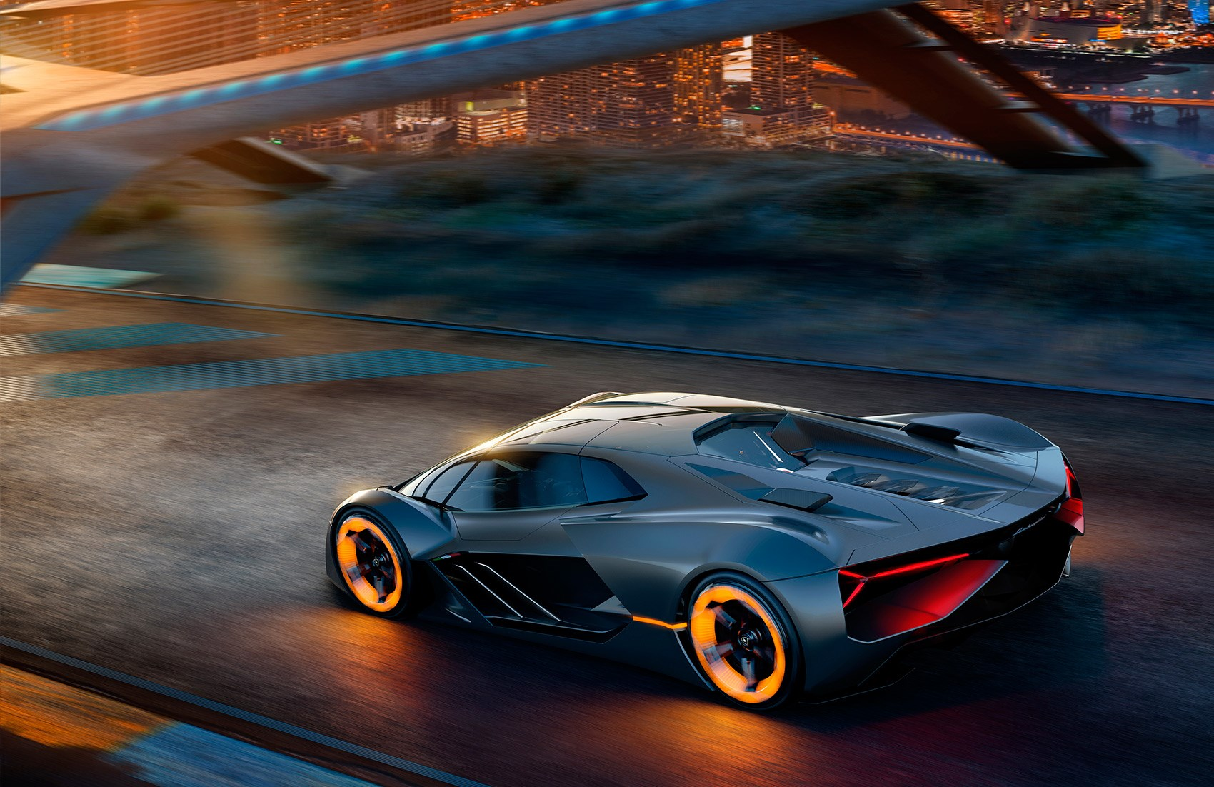 Will Electric Supercars Be Tearing Around Future Cityscapes? Lamborghini  Thinks So.