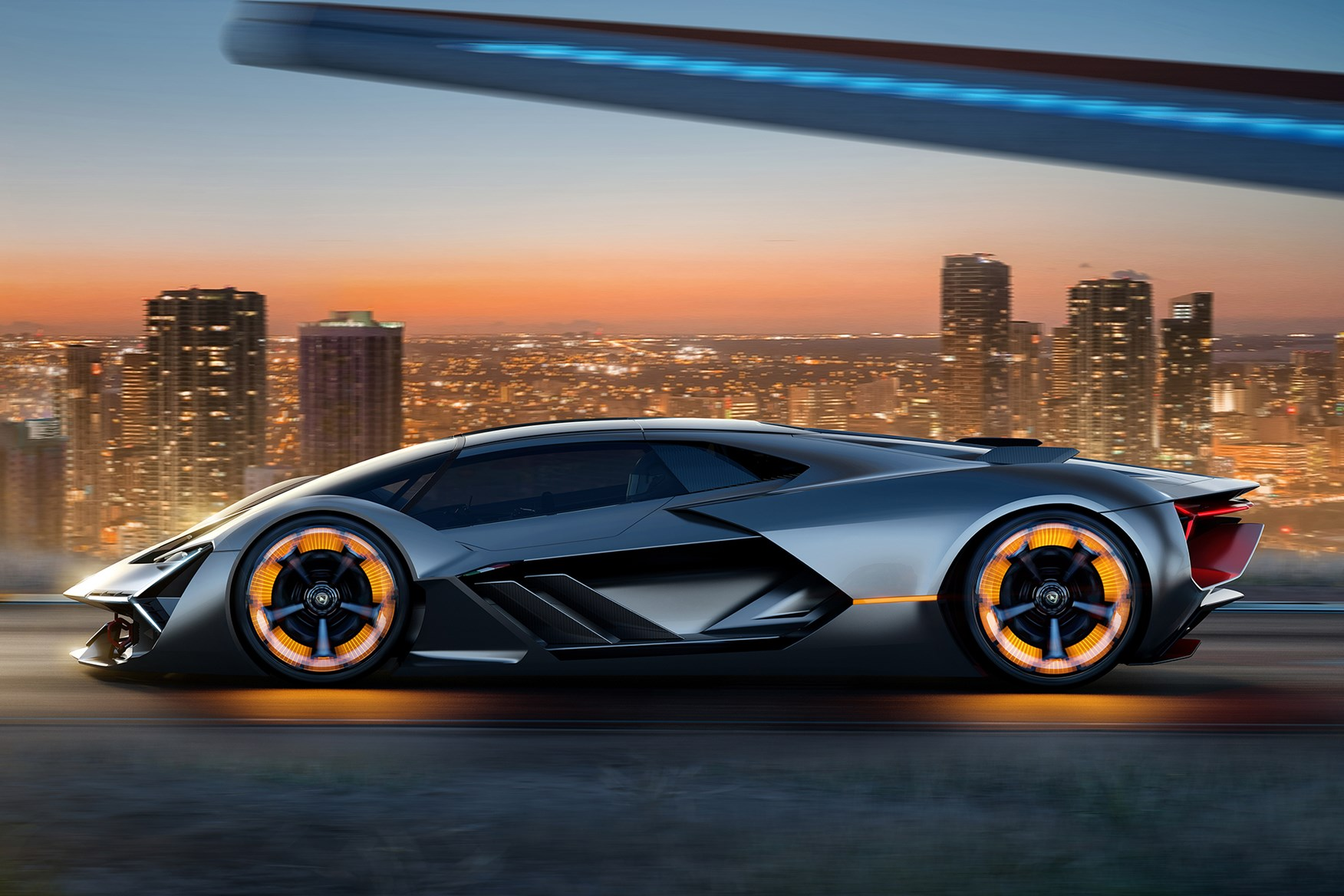 Captivating In Wheel Electric Motors And Self Healing Composite Bodywork: The New  Lamborghini Terzo Millennio