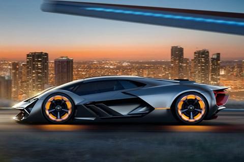 Electric Lamborghini!