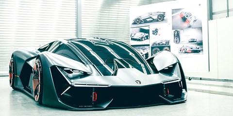 The Lamborghini Terzo Millennio