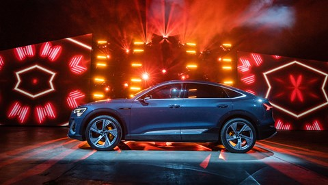 Audi E-tron Sportback at the 2019 Los Angeles Auto Show