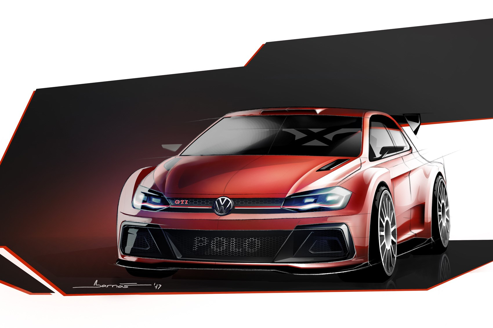 Vw Polo Gti R5 Amped Up Rally Hatch Revealed By Car Magazine