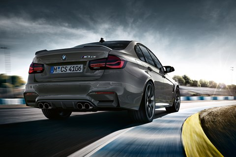 BMW M3 CS rear cornering