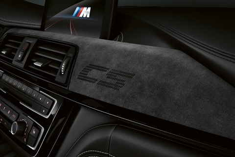 BMW M3 CS interior dashboard