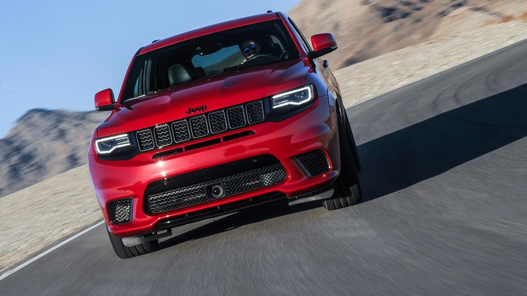 Jeep Grand Cherokee Trackhawk (2018) Review: Europe Inbound