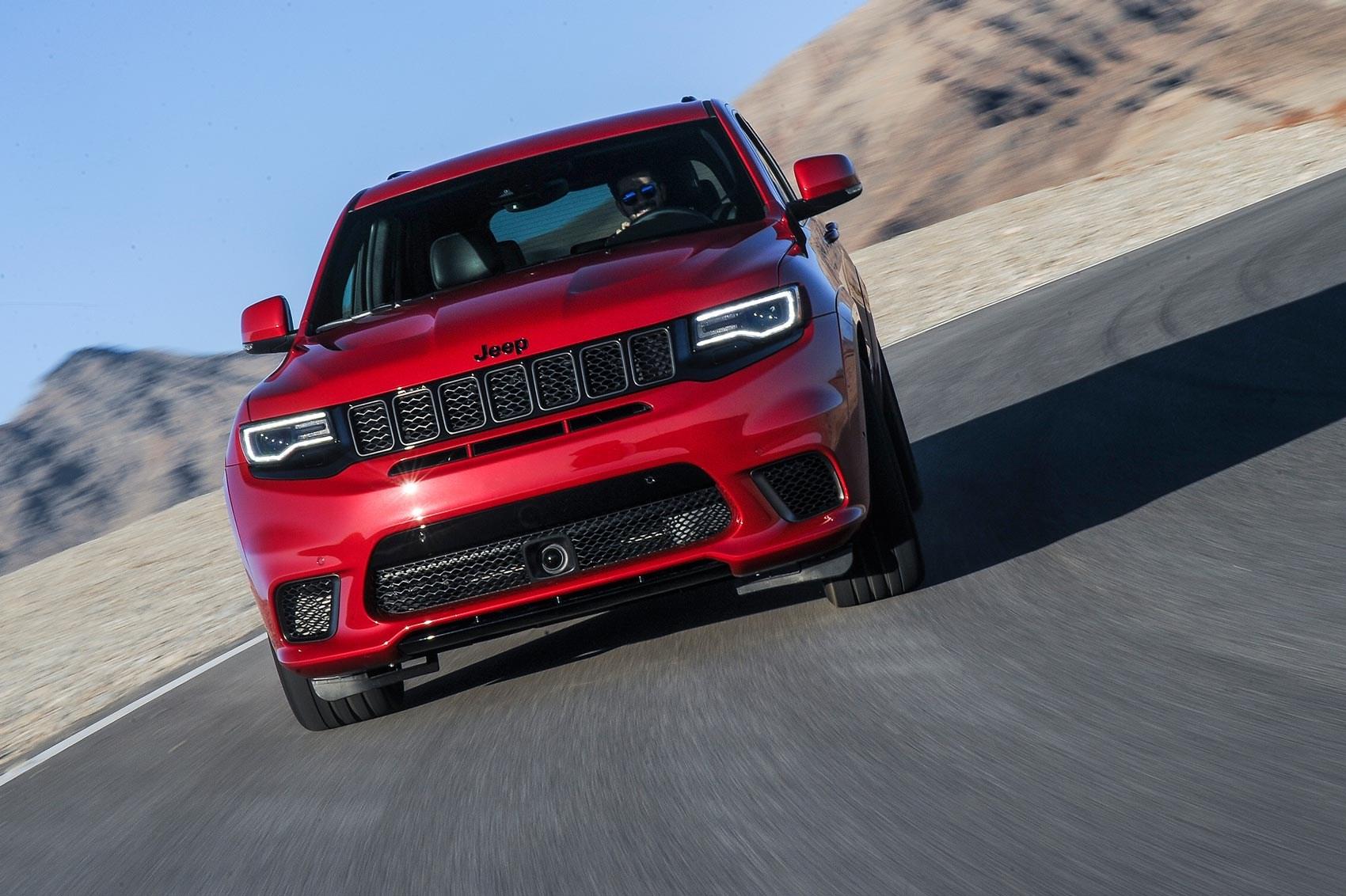Jeep Grand Cherokee Trackhawk (2018) review: Europe ...