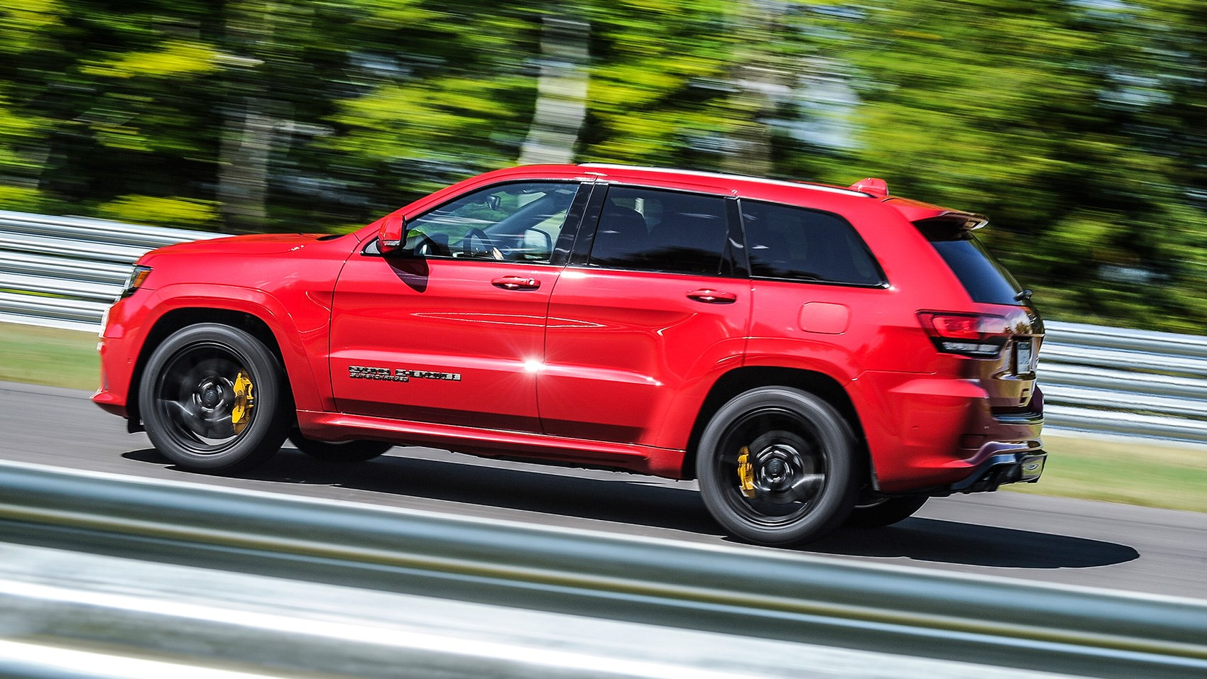 Jeep Grand Cherokee Trackhawk (2018) review: Europe ...
