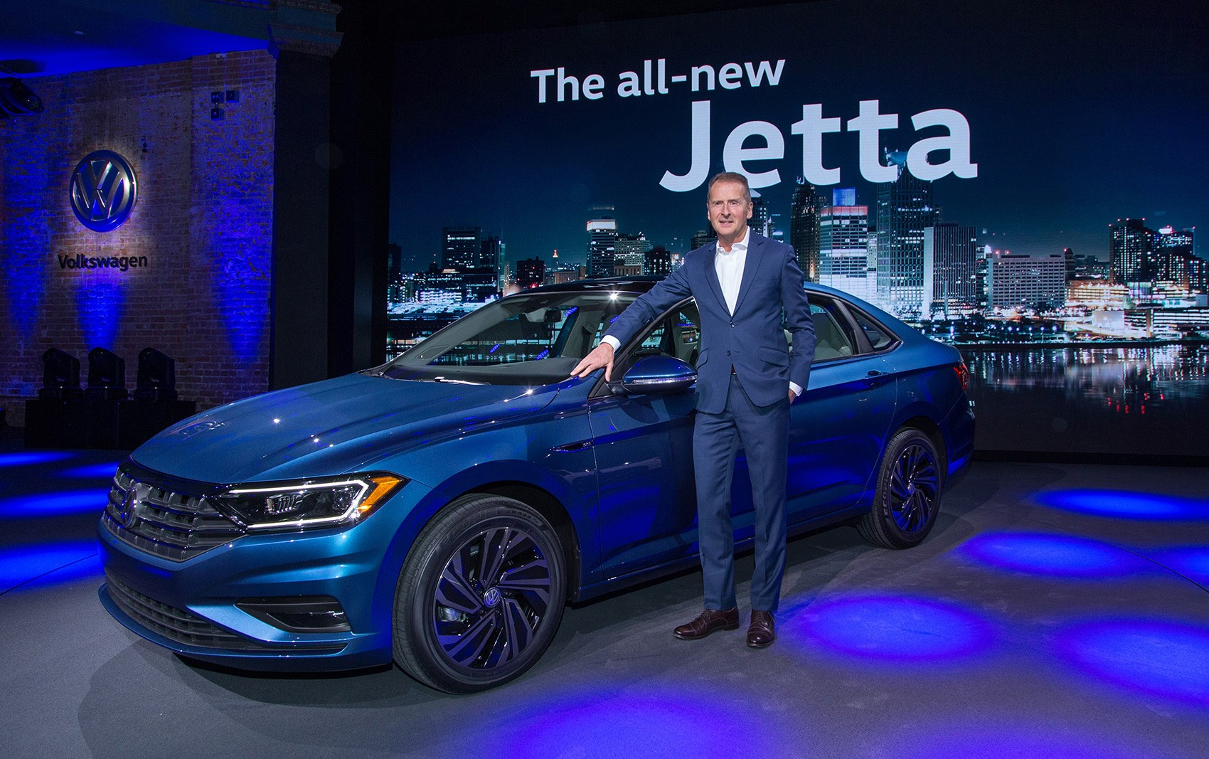 Next Generation Vw Jetta Set For Detroit 2018 By Car Magazine