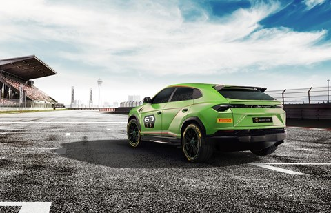 Lamborghini Urus ST-X concept race car