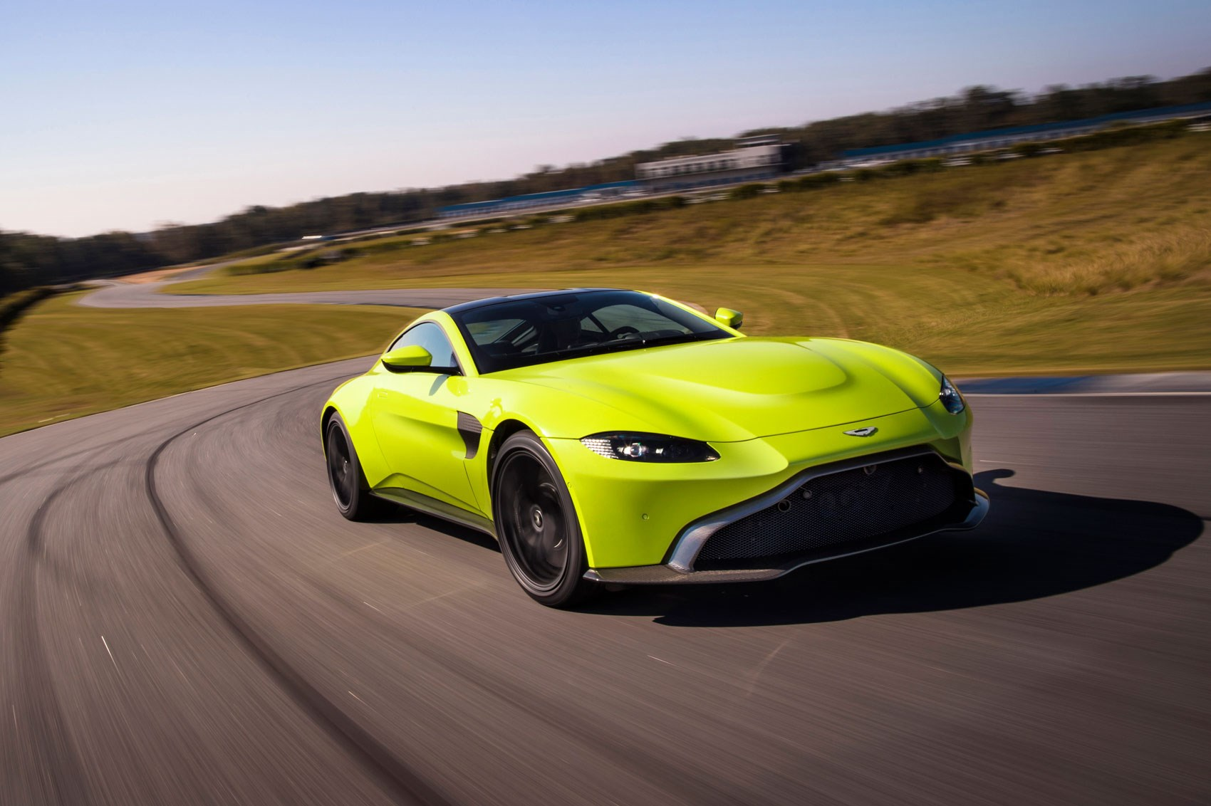 the new 2018 aston martin vantage revealed in pictures by car magazine. Black Bedroom Furniture Sets. Home Design Ideas