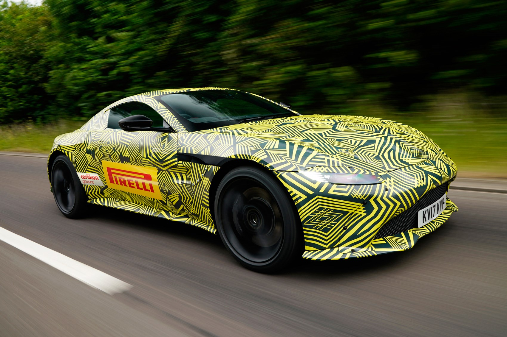 Official Spyshots Of New 2018 Aston Martin Vantage