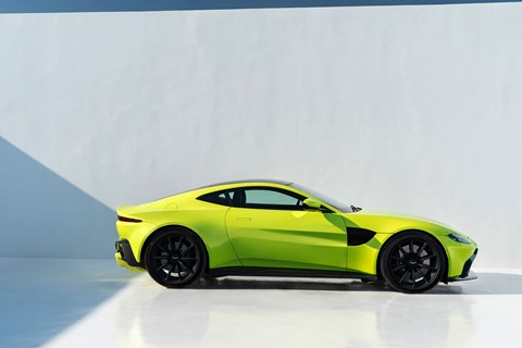 The new Aston Martin Vantage in pictures
