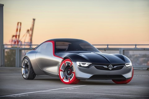 The Opel GT Coupe Concept from 2016