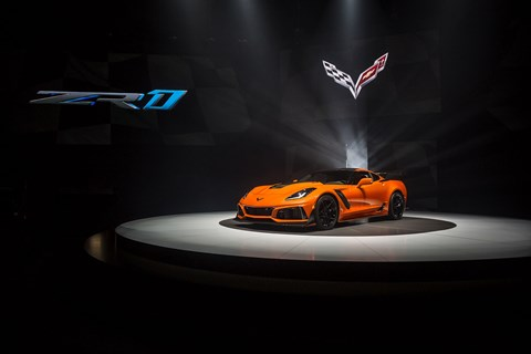 The new 2019 Corvette ZR1 is here