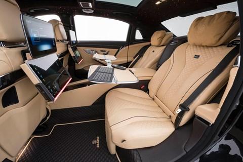 Brabus 900 rear seats