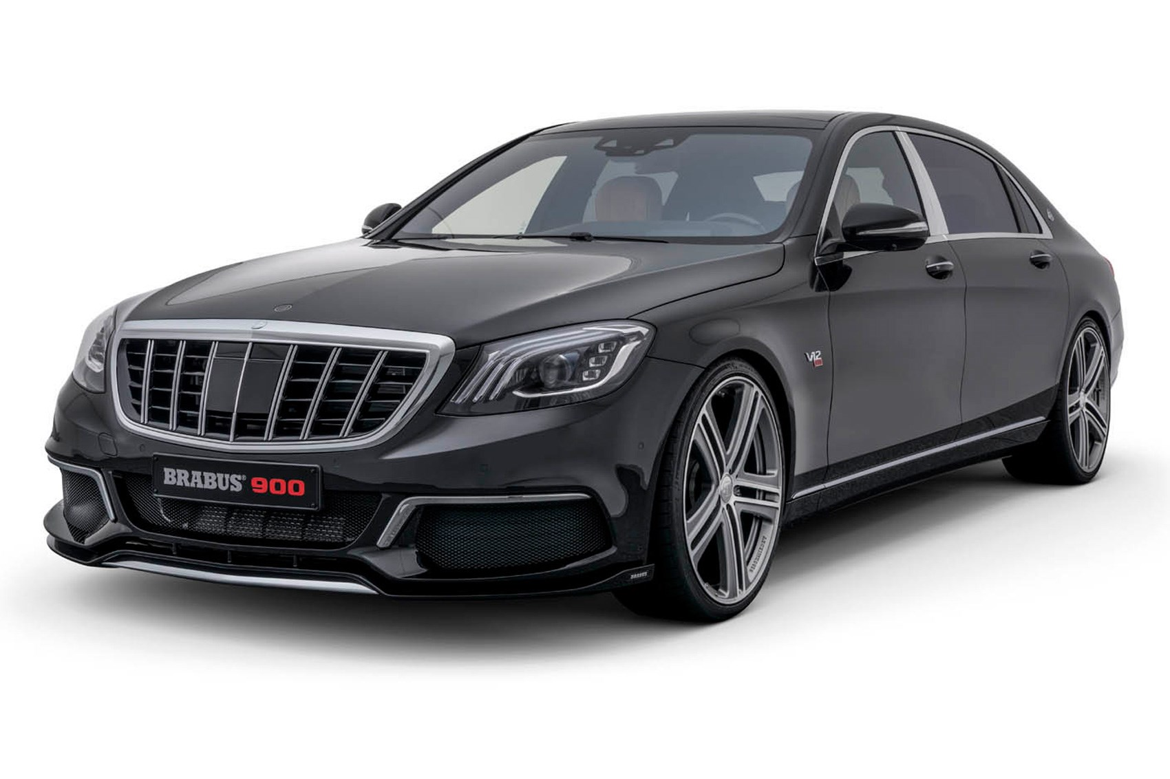 Demonic limo mercedes s class facelift gets 888bhp brabus for Mercedes benz g class brabus