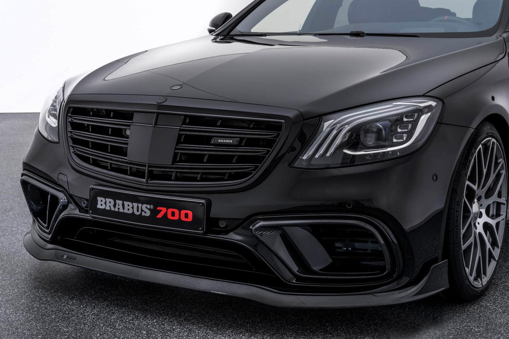 Demonic limo: Mercedes S-class facelift gets 888bhp Brabus treatment ...