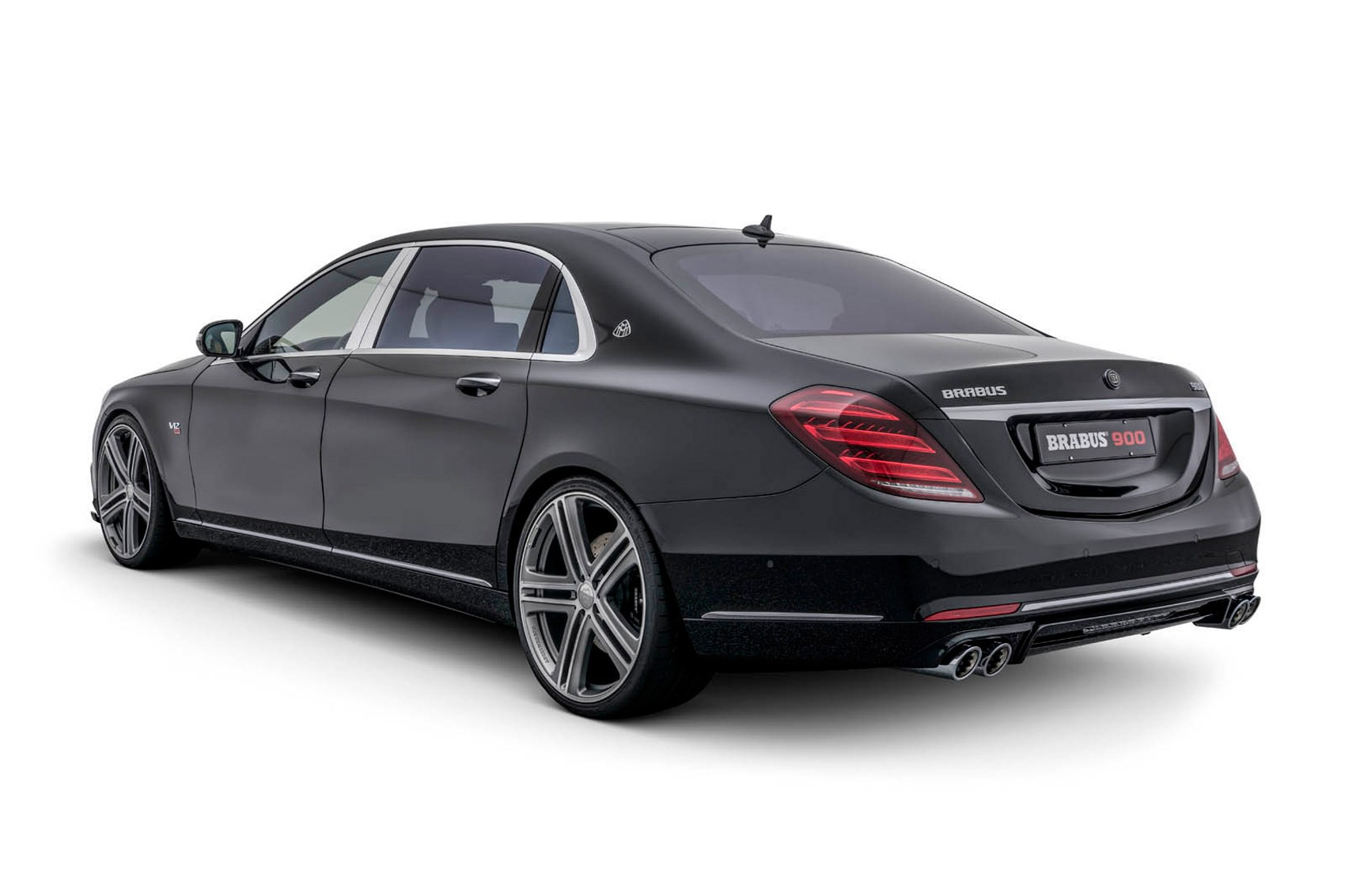 demonic limo mercedes s class facelift gets 888bhp brabus treatment by car magazine. Black Bedroom Furniture Sets. Home Design Ideas