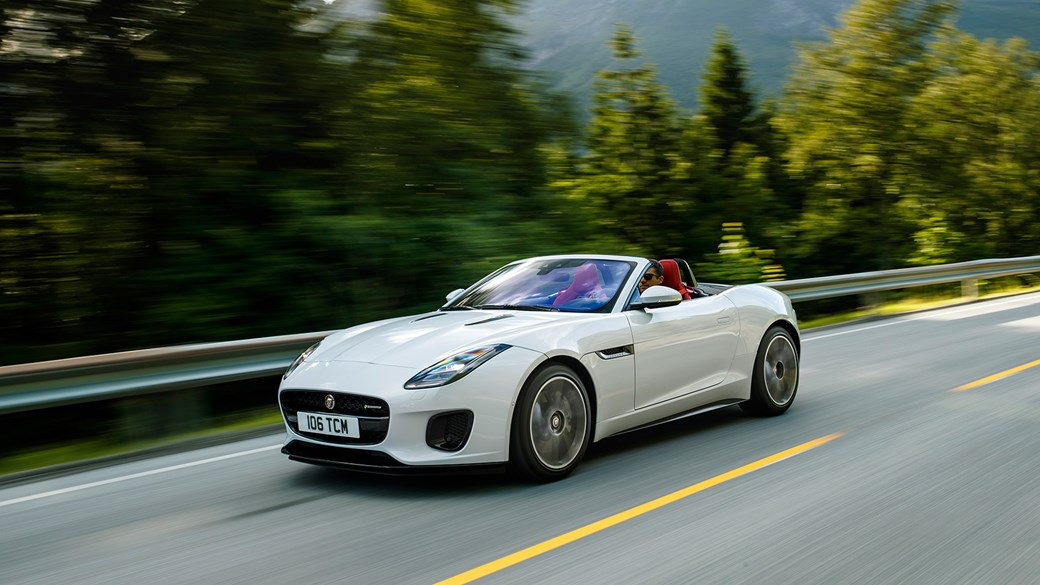 The New Four Cylinder Jaguar F Type Convertible
