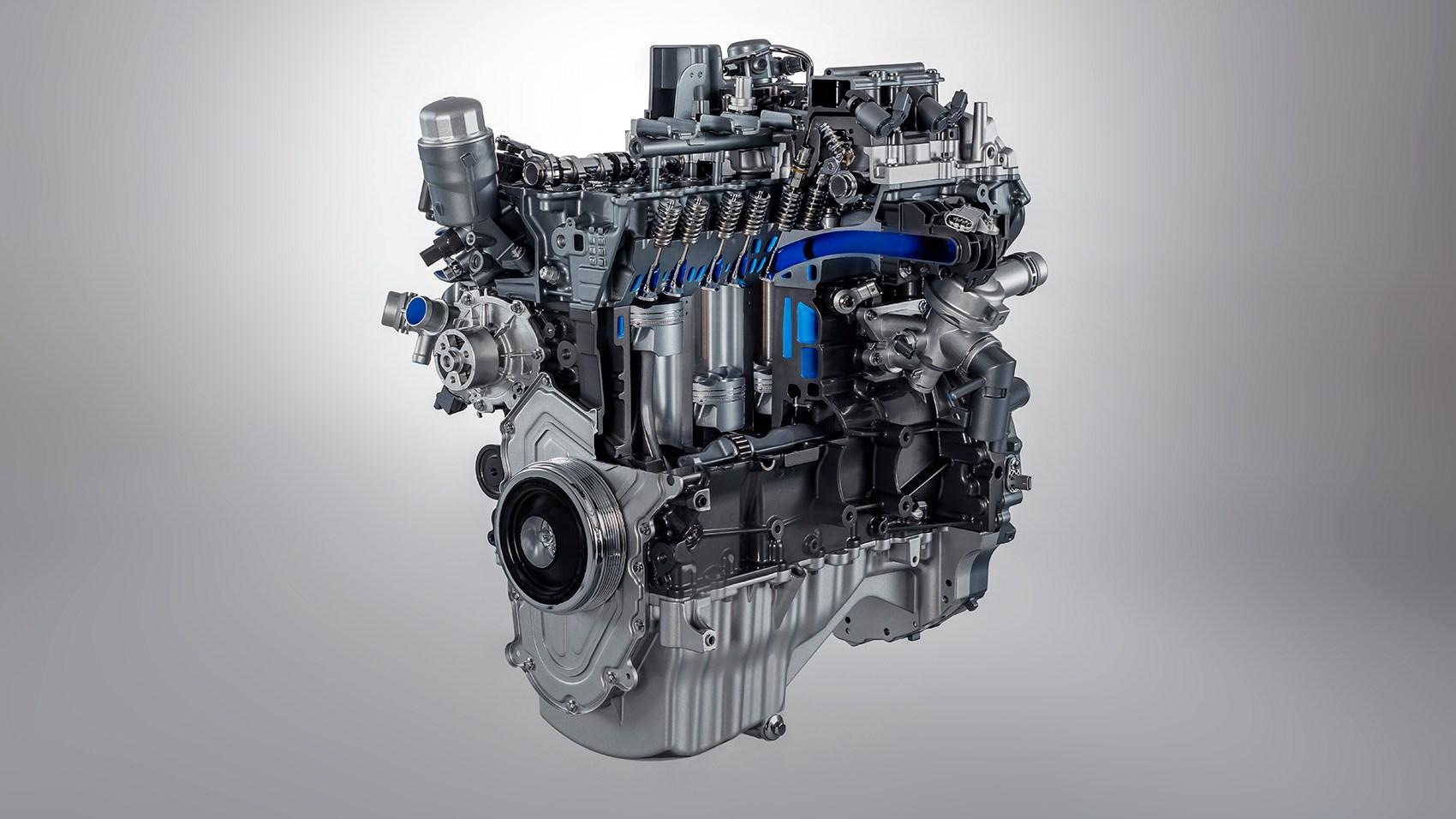 4 cylinder engine: the Ingenium motor powering the Jaguar F-type