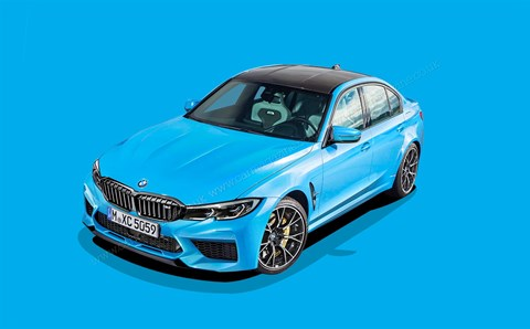 New 2020 BMW M3: CAR magazine's artist impression