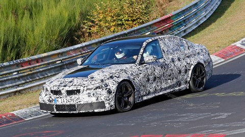 New 2020 BMW M3 spy photos by CAR magazine