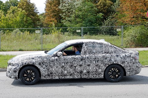 The new 2018 BMW 3-series: we spy a prototype on test