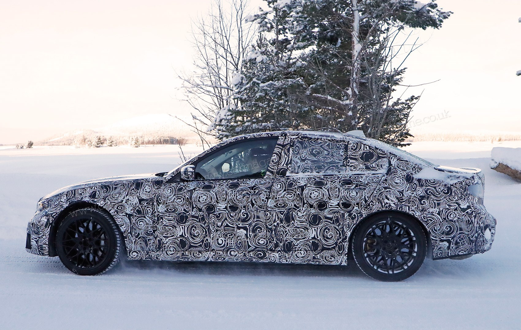 New 2020 Bmw M3 G80 Prototype Spied Testing At The Ring Car