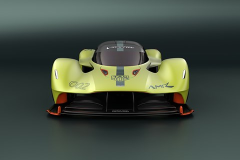 Aston Martin Valkyrie AMR Pro front end