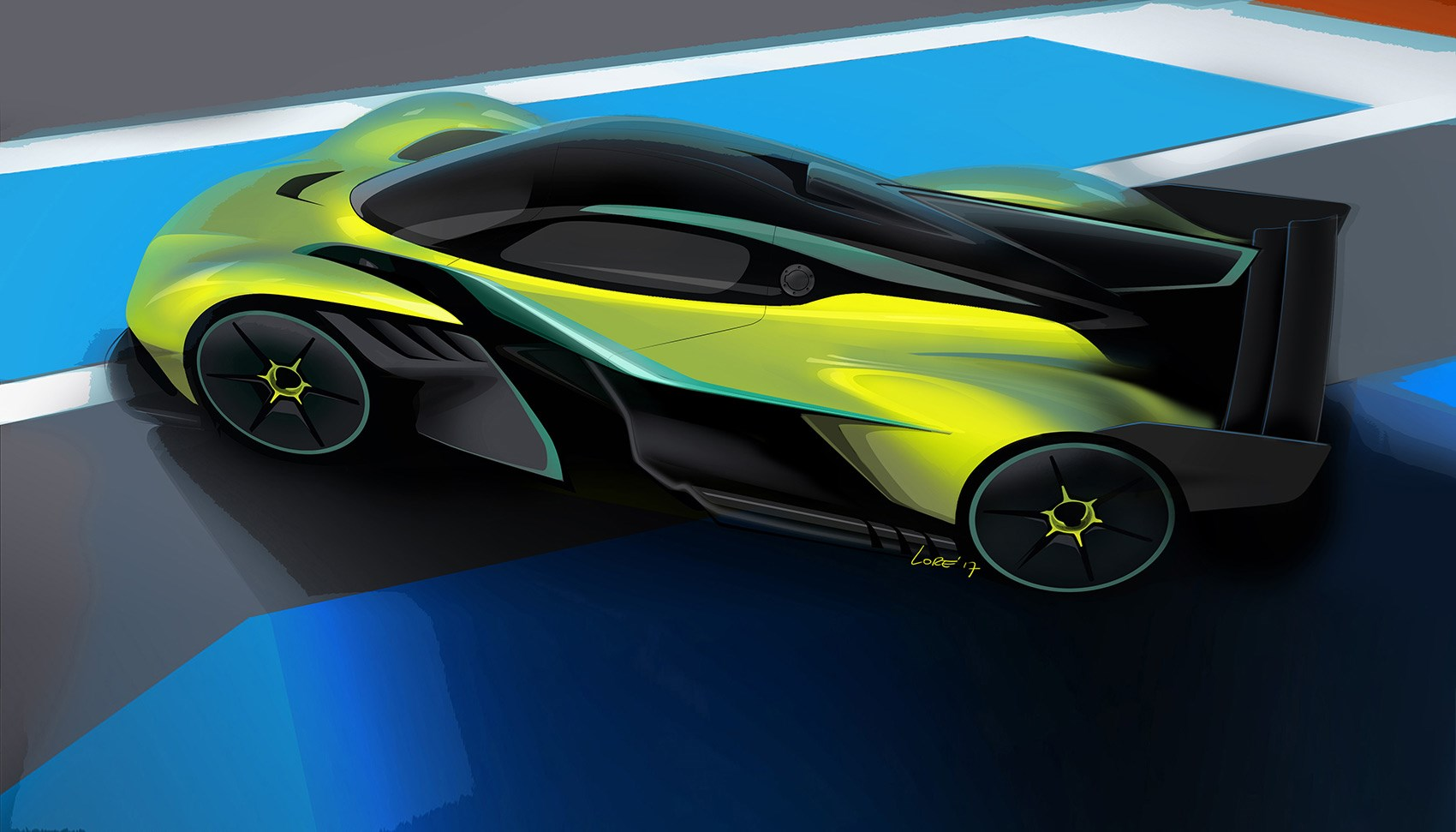 Aston Martin Valkyrie AMR Pro: 25 planned, all sold