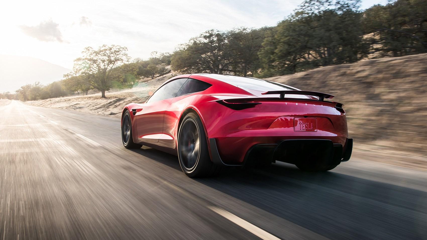 New Tesla Roadster Musk Hints At Rocket Ed Performance