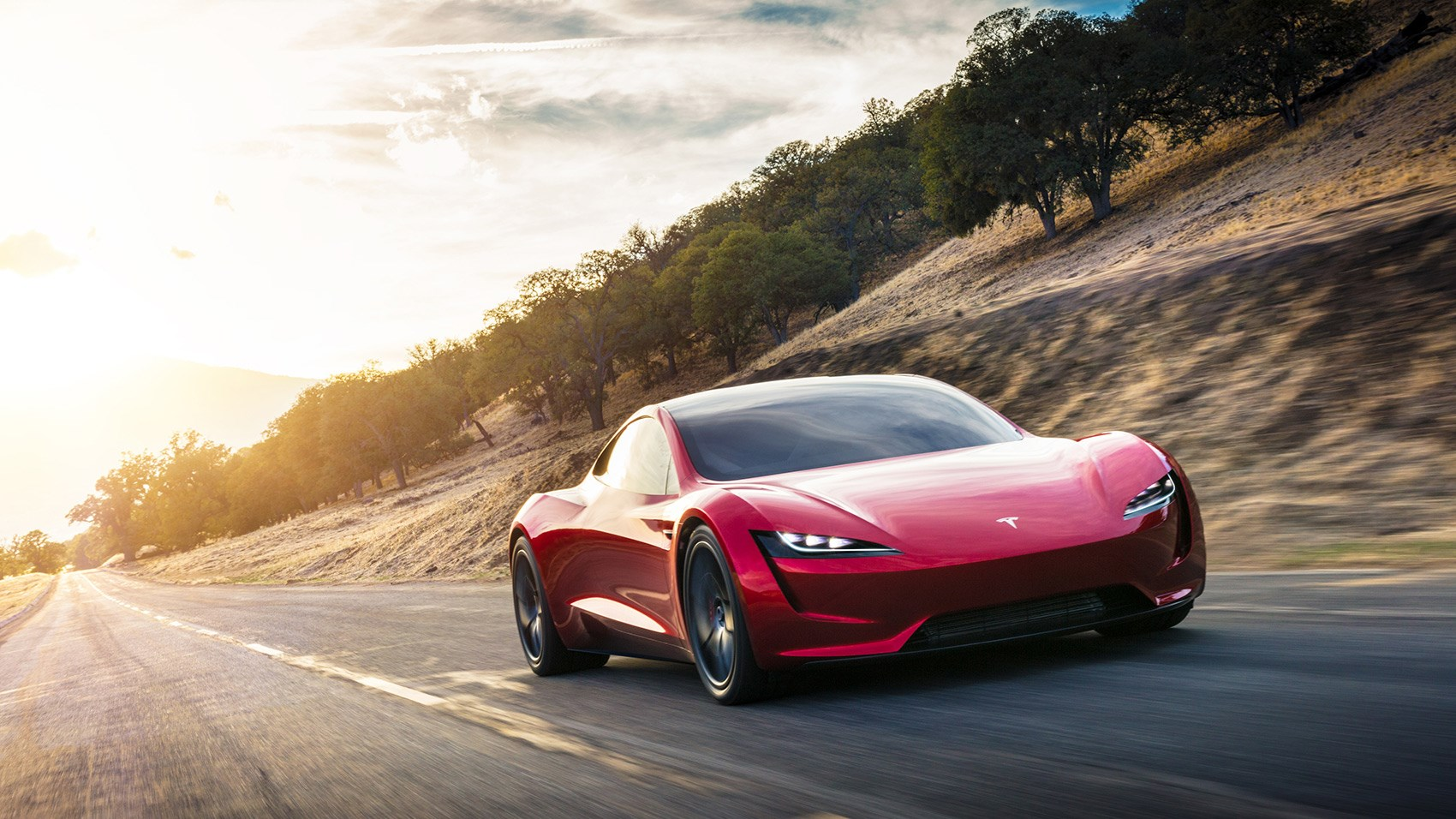 new tesla roadster musk hints at rocketpowered
