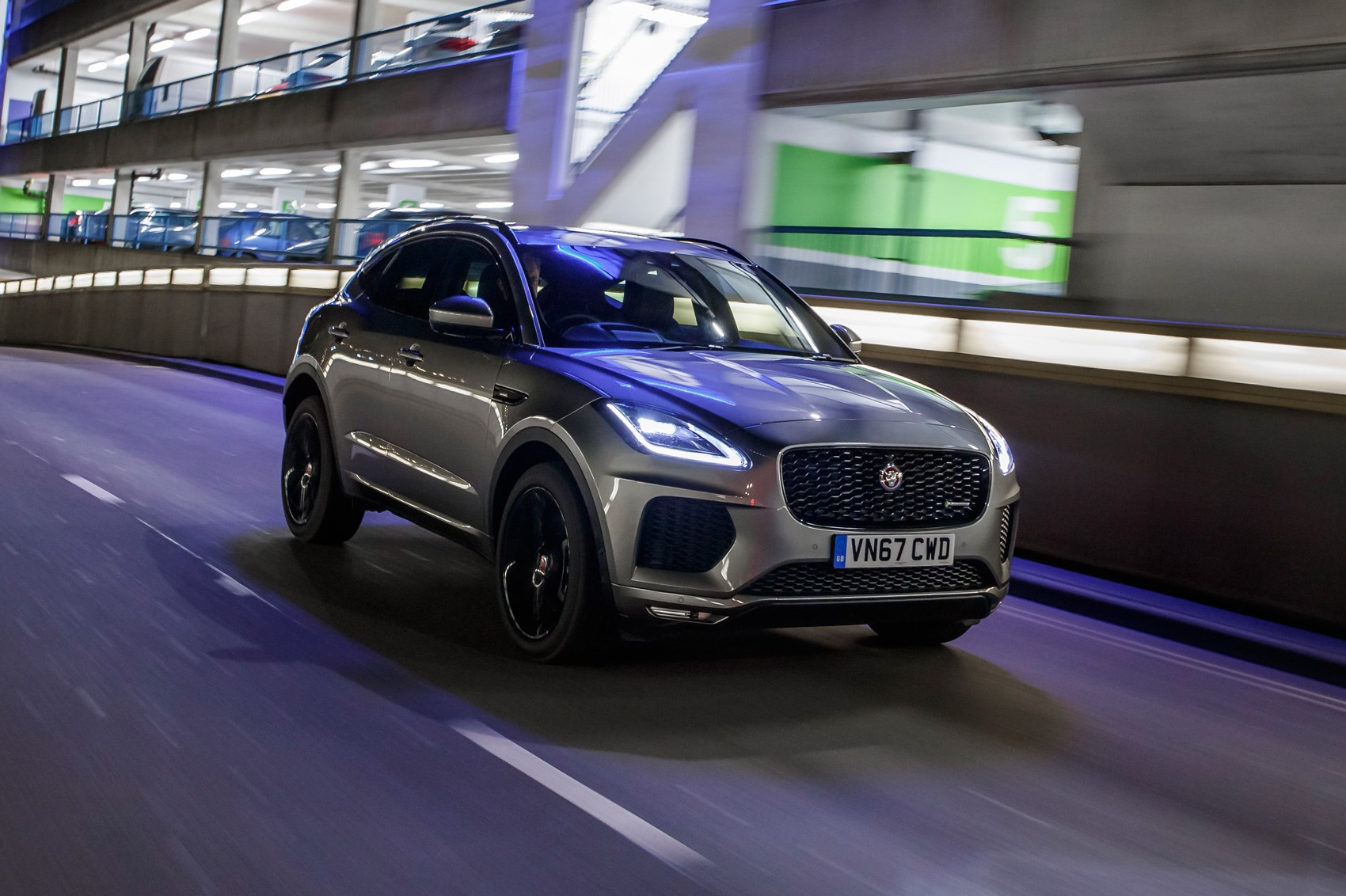 jaguar e pace suv 2017 review by car magazine. Black Bedroom Furniture Sets. Home Design Ideas