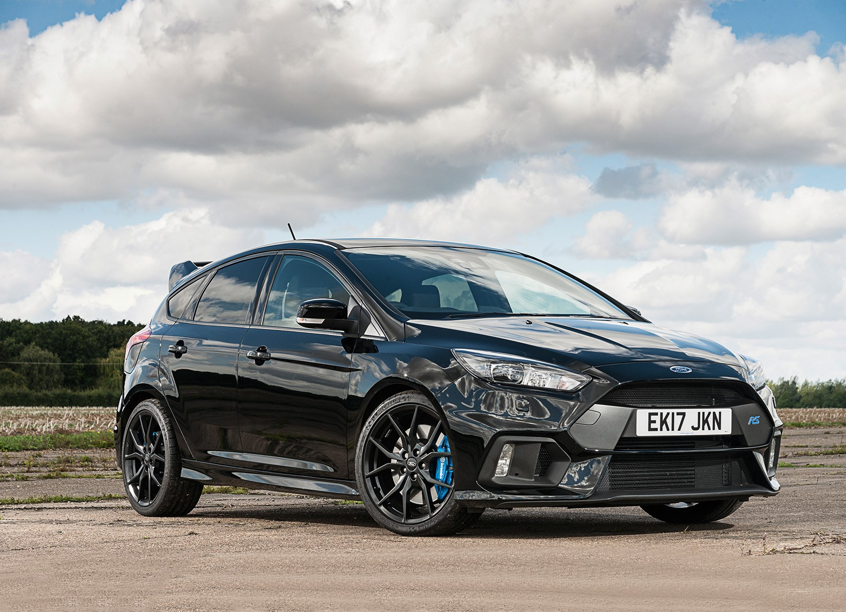 Sporty ride still is our new ford focus rs photographed for car by stuart collins