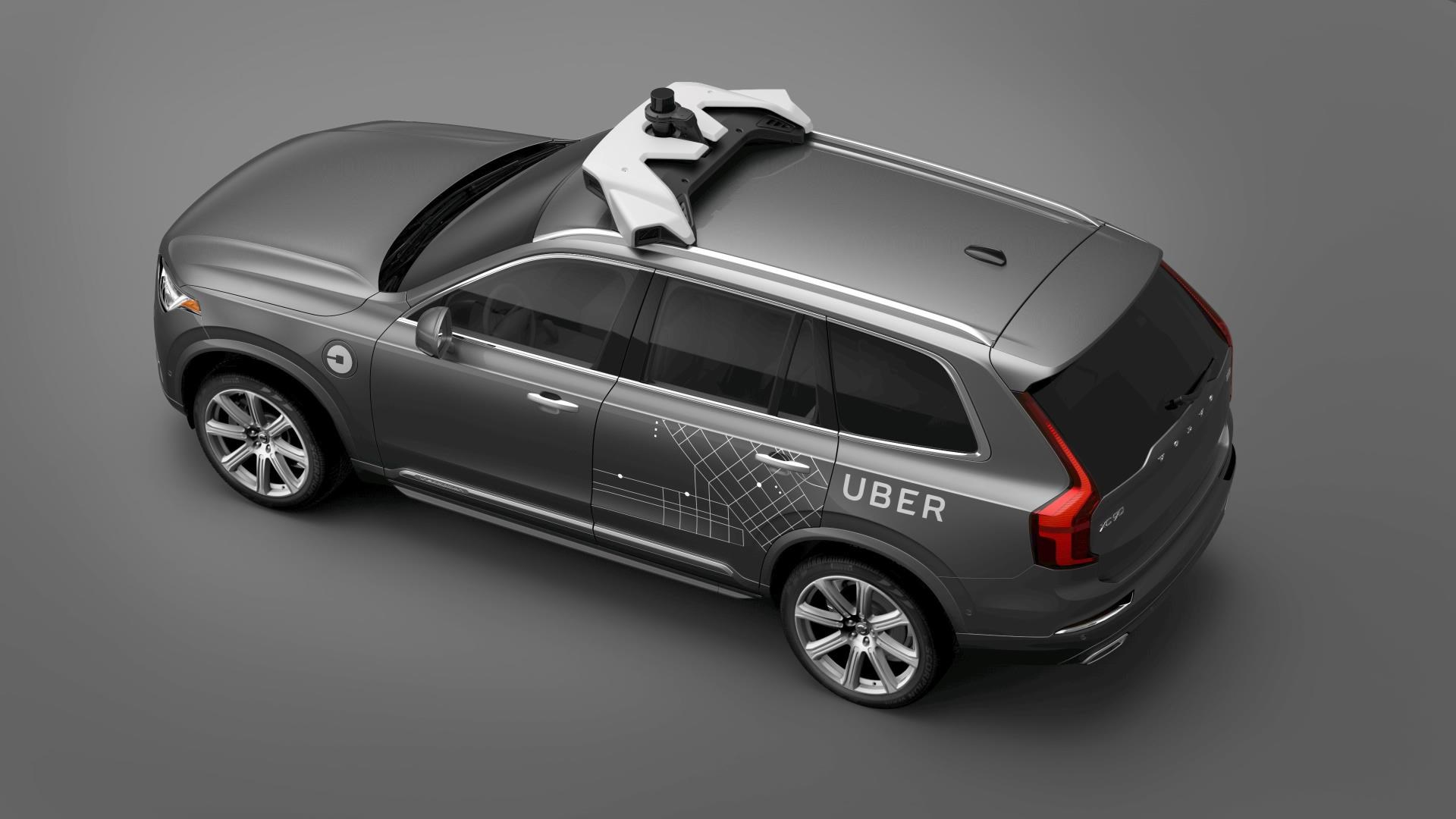Uber strikes deal to buy 24000 autonomous Volvos