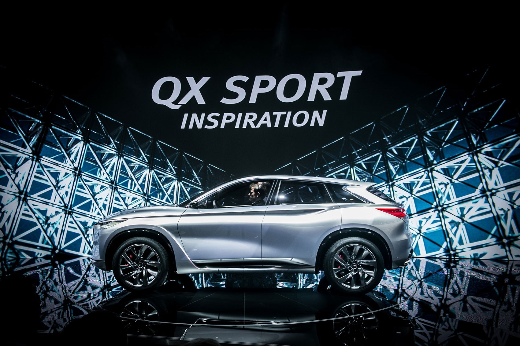 Infiniti QX At The LA Auto Show CAR Magazine - Infiniti car show