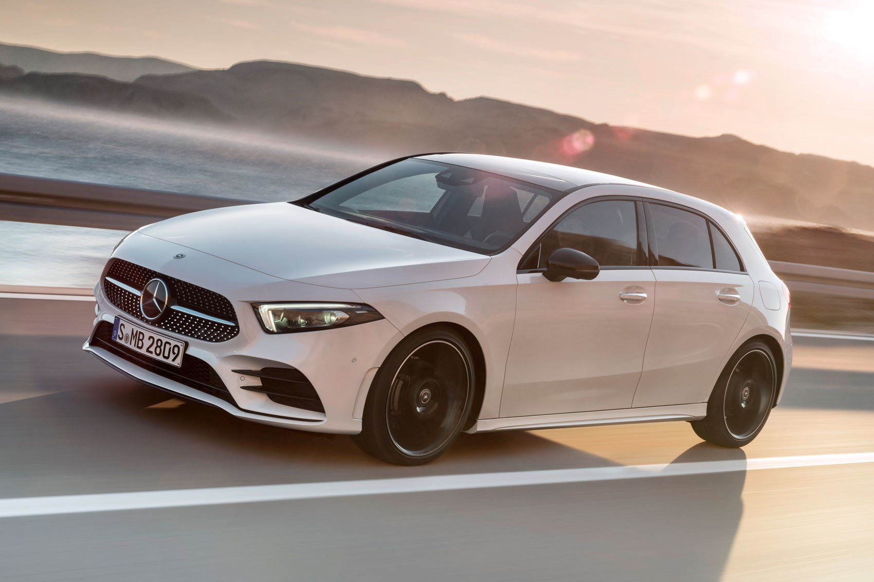 New mercedes a class the car lowdown car magazine for Mercedes benz a class price