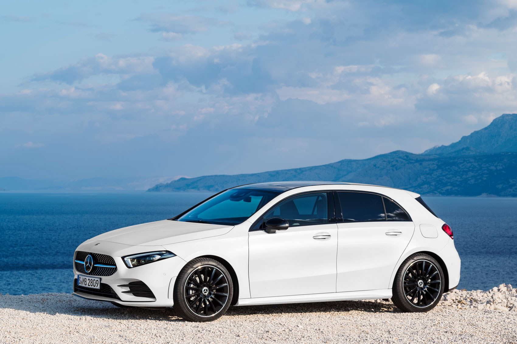 new mercedes a class sedan version revealed car magazine. Black Bedroom Furniture Sets. Home Design Ideas