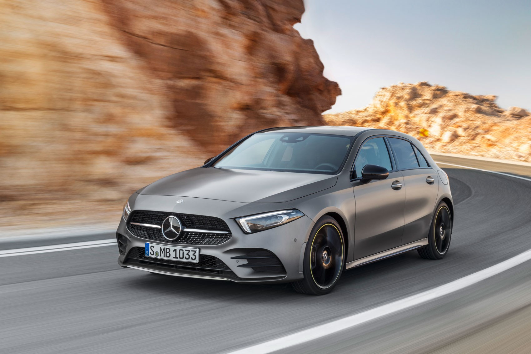new mercedes a class sedan version revealed car magazine