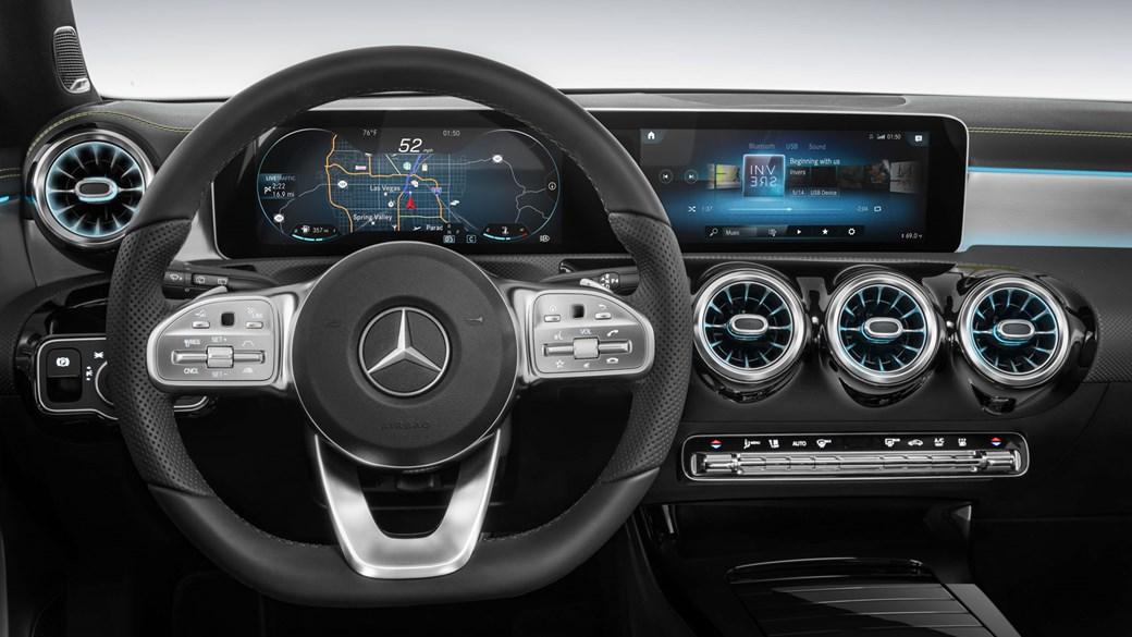 new mercedes a class sedan version revealed car magazine