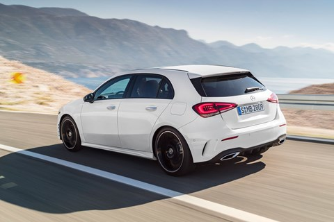 The new 2018 Mercedes A-class