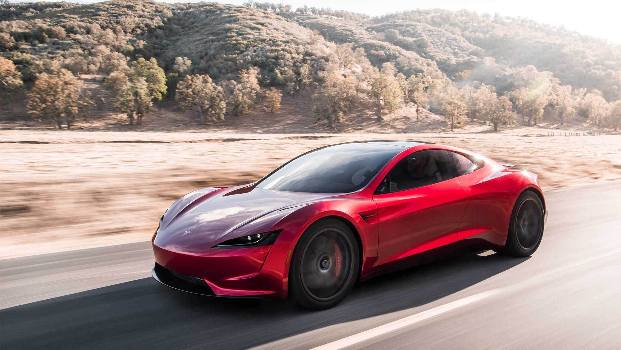The new 2020 Tesla Roadster