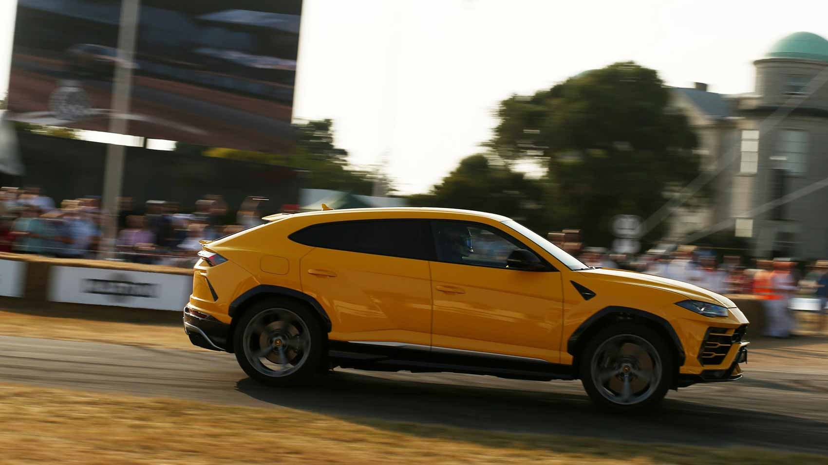 Lamborghini Urus at the 2018 Goodwood Festival of Speed: we drove the first one in the UK
