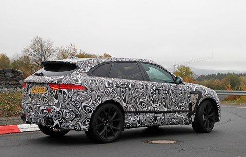 Prices and specs: the new 2018 Jag F-Pace SVR